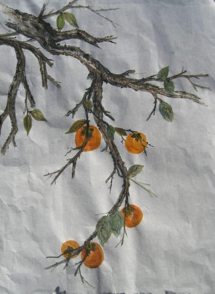Five Persimmons Art | donnadacuti