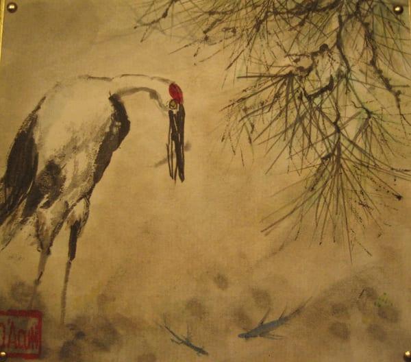 Fishing Crane Art | donnadacuti