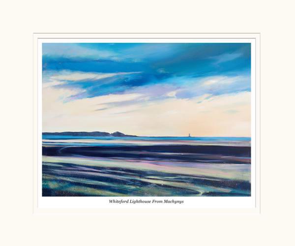 Llanelli Coast Small Art Print