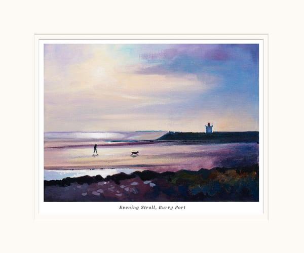 Buury Port Sunset Small Art Print
