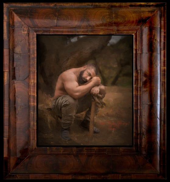 Asaf Narkis Resting, Limited Edition, Ben Fink, Art prints,
