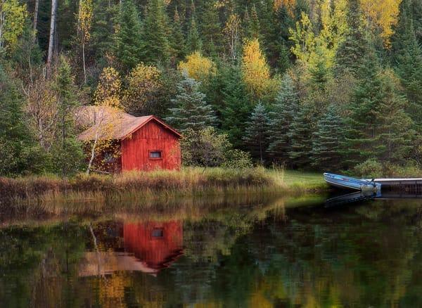 Red Cabin North Shore Minnesota