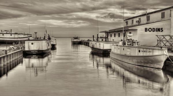 Old Fishing Boats Lake Superior