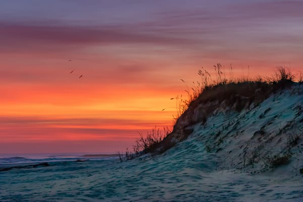 Dunes on Fire by Dan McCarthy