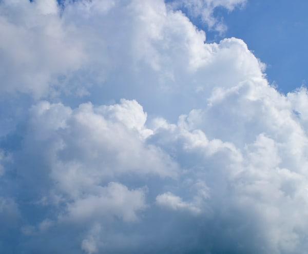 Contemporary Clouds 4 Art   Renee Bitinas Fine Art