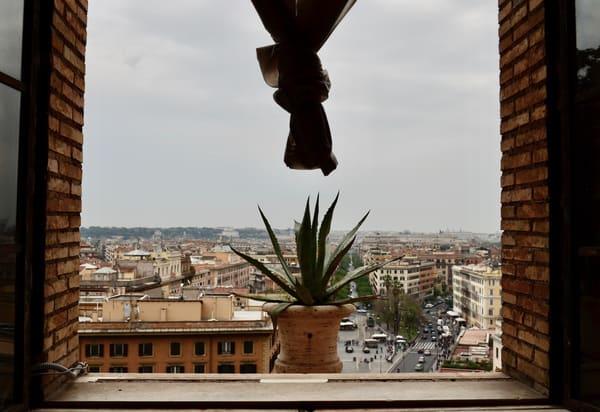 A View From The Vatican Art   Renee Bitinas Fine Art