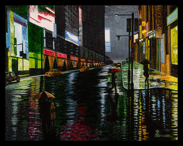Saturday Night In The City Art | RPAC Gallery