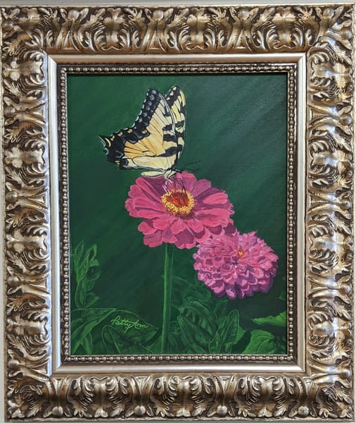 Patricia Stanley Horn - original artwork - nature - butterfly