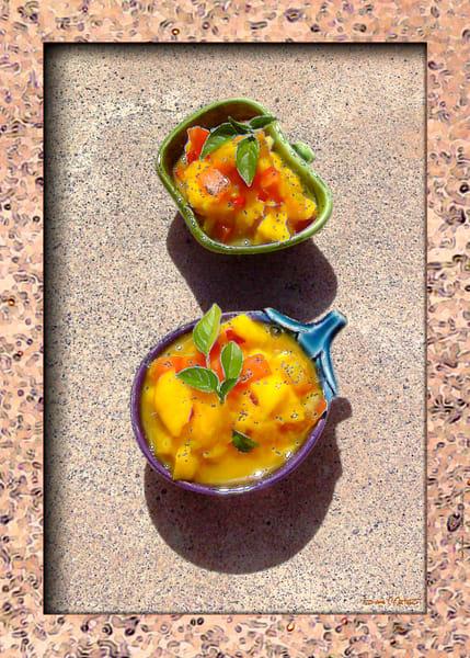 Serving Mango Salsa