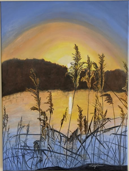 Patricia Stanley Horn - original artwork - nature - Manver's Lake