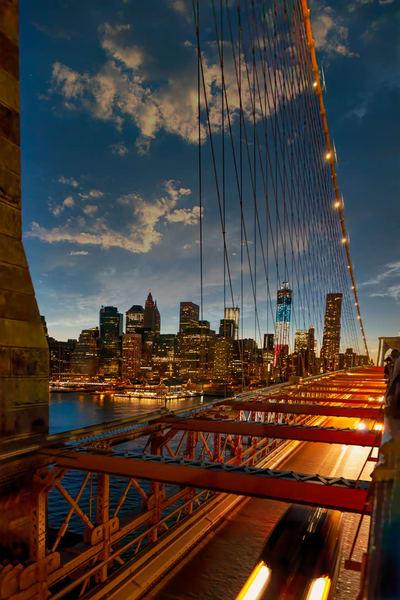 art, fine art, contemporary, bridge, fiesta, Brooklyn, colorful, bold, photography