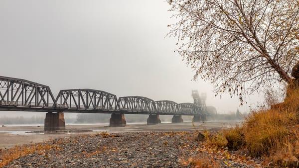 CN Train Bridge No 6 | Terrill Bodner Photographic Art