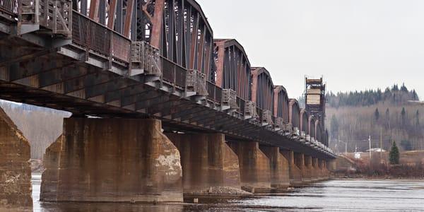 CN Train Bridge No 8 | Terrill Bodner Photographic Art