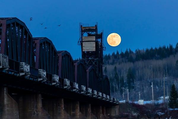 CN Train Bridge No 9 | Terrill Bodner Photographic Art