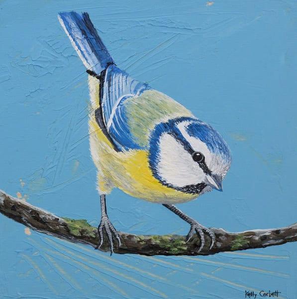 Blue Tit Painting
