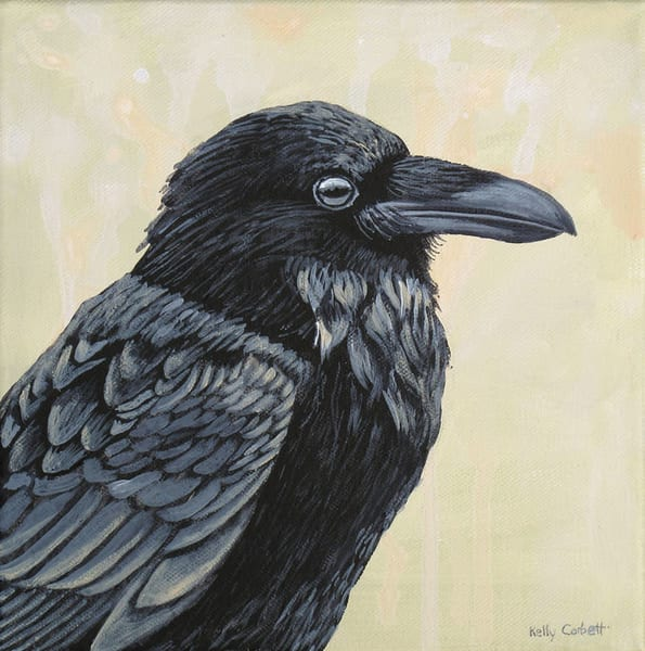 Raven Painting