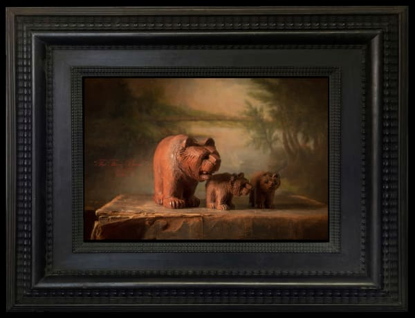 The Three Bears, Limited Edition, Ben Fink, Art Prints,