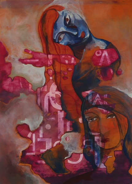 Wistful. The Contemplative Self Series Art | Mina Vancardo