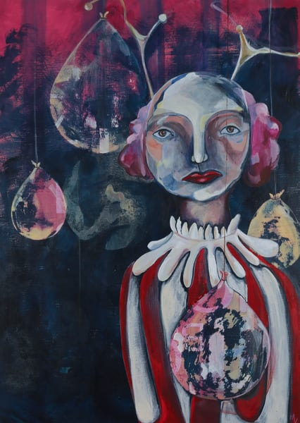 Jewels. The Contemplative Self Series. Art | Mina Vancardo