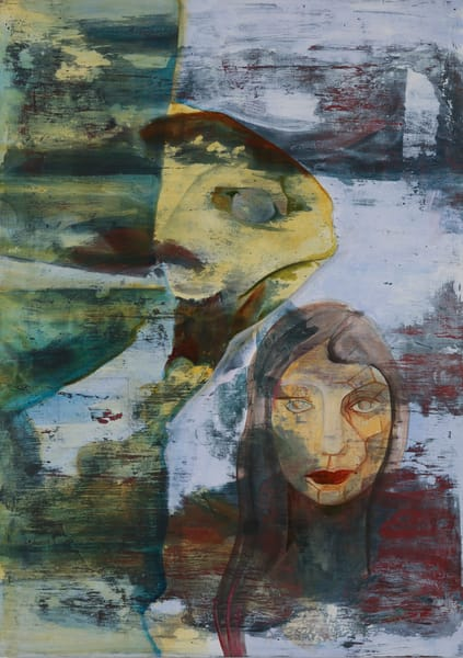 Propel Through. The Contemplative Self Series. Art | Mina Vancardo