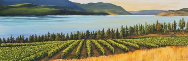 Kelowna vineyard painting
