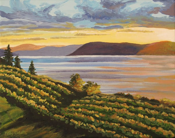 St Hubertous Winery in the Okanagan