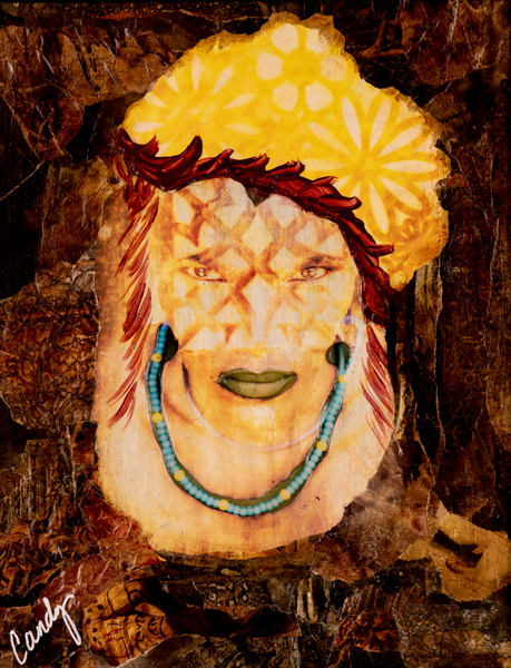 Warrior Woman Art   Candy Country