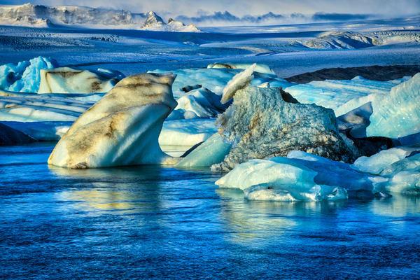 Fjallsárlón Lagoon Photography Art | Scott Krycia Photography