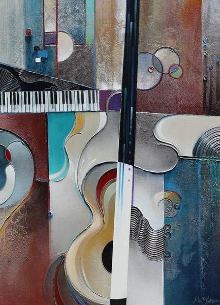 Latin Jazz Original Sold Art | John Blowers Art