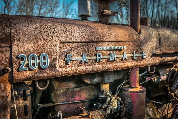 Farmall 200 Photography Art | Scott Krycia Photography