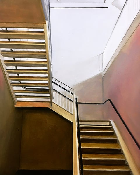 Stairs on 26th Street