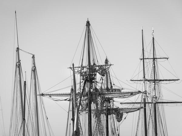 Schooner, Galleon and Topsail Schooner Rigs
