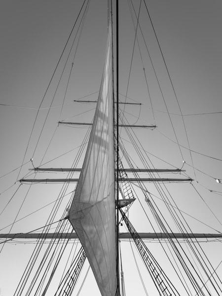 Staysail and Mainmast | Star of India (1863)