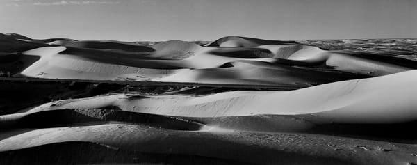 Dunes Panorama, Imperial Valley Ca  Photography Art | Nicholas King Photography