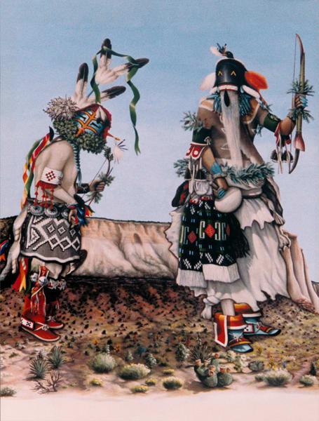 Native American Southwest Native Art 1