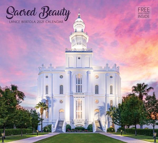 2021 Lance Bertola Calendar  Sacred Beauty | Cornerstone Art