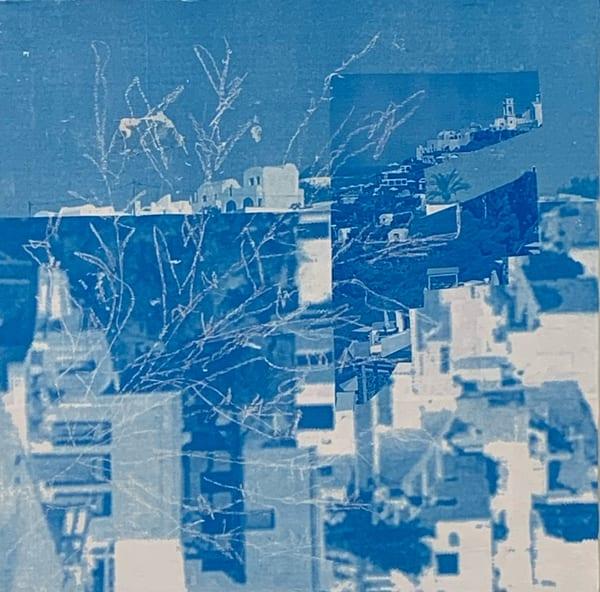 Santorini Iv Art | Julie Brown Art