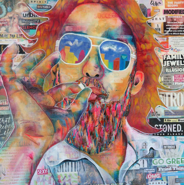 That Rebel Life Art | Toria Hill Gallery