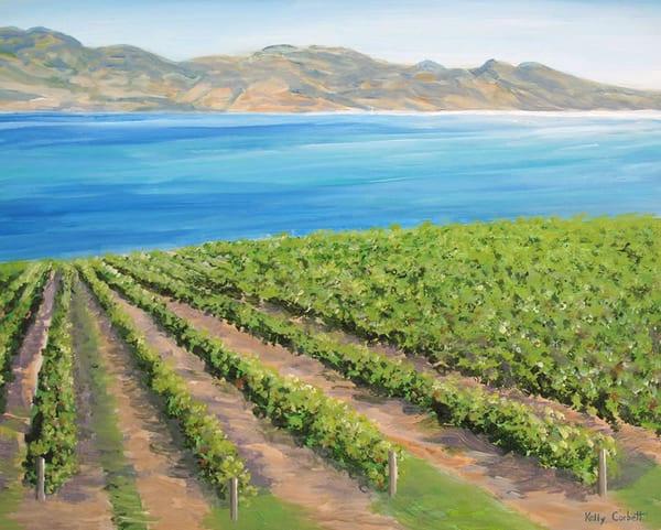 Okanagan vineyard in West Kelowna