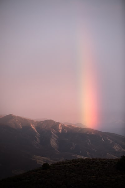 Ridge Rainbow Photography Art | Sydney Croasmun Photography