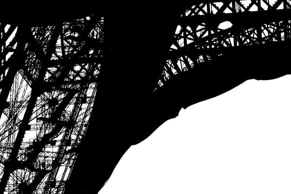 Eiffel's Shadow Art | Chuck Redick Art