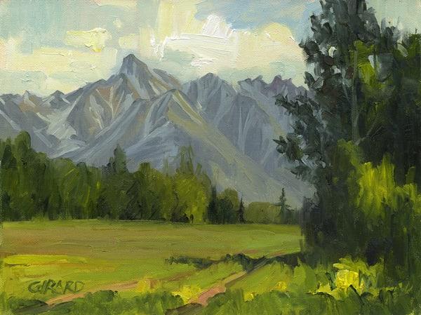 Matanuska Peak Art | Studio Girard