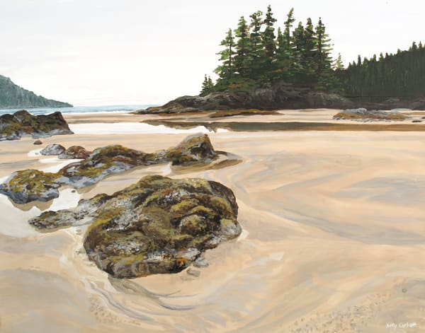 Beach at San Josef Bay and Cape Scott, BC.