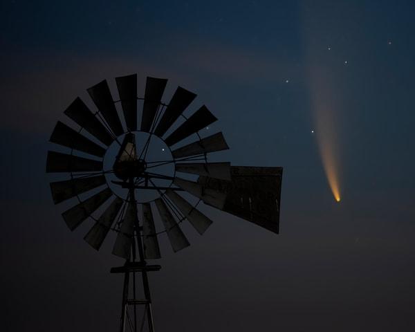 Comet's Flight Photography Art | Jim Livingston Art