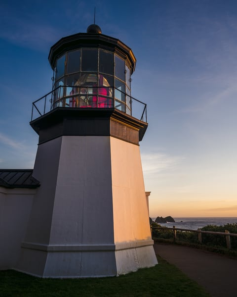 Lighthouse, Cape Meares, Oregon, 2020