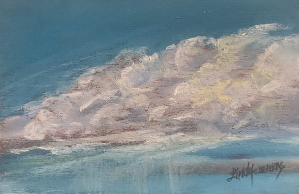 Lindy Cook Severns Art | Virga Blooms, original pastel