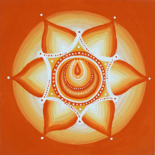Sacral Chakra Art | Monique Cudbertson Art