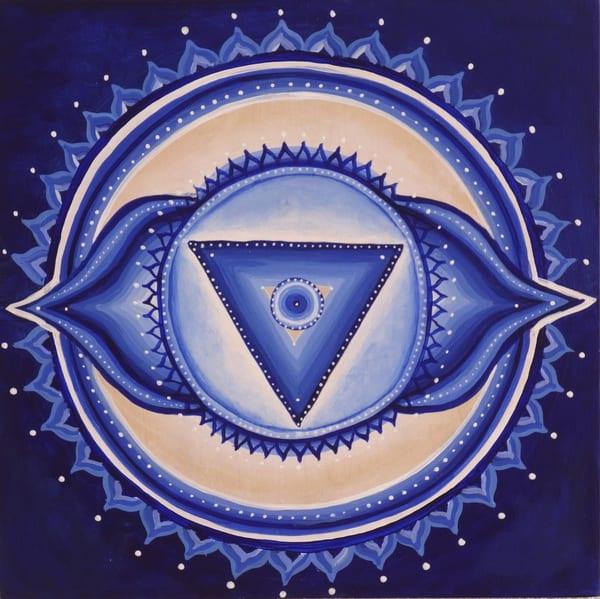 Third Eye Chakra Art | Monique Cudbertson Art