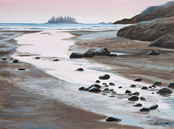 Sunset at MacKenzie beach in Tofino, BC