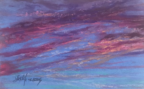 Lindy Cook Severns Art | As A Whisper Becomes A Song, original pastel